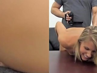 Casting Couch Unexpected Anal Compilation