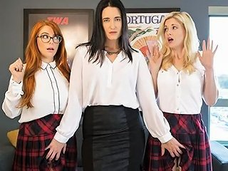 Lesbian Schoolgirl Violation Hd