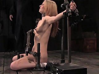 Calico In Calico Impaled On An Electrified Dildo And Made To Orgasm Devicebondage Txxx Com