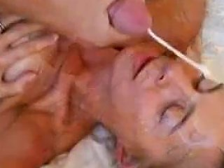 Blonde Hair Blue Eyed Milf Takes A Thick Load Free Porn 2f