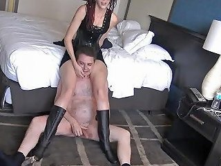 Violent Kick In The Balls Of Andrea Dipre With Roller