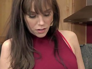 Horny Cougar Caught Squirting By Young Music Teacher