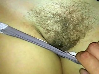 Rubbing On Her Panties And Hairy Pussy Till I Cum Porn Ae