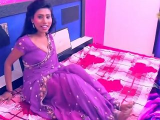 Hot Desi Shortfilm 464 Boobs Pressed Kissed Amp Squeezed In Purple Blouse