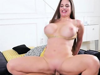 Big Breasted Cougar Cathy Heaven Helps Out A Friend But He Nuvid