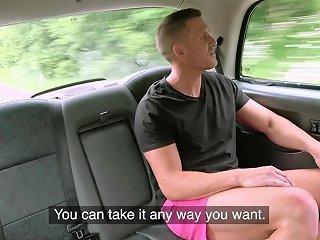 Female Fake Taxi Take Me To The Cock Inn