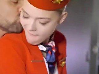 Stewardess Airplane Fucking Girl