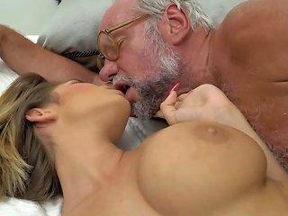 Big Boobed Teen Fucked By Grandpa Porn Videos