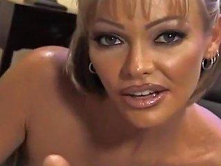 Busty Slut Houston Jerks Off A Fat Prick Txxx Com