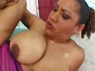 Big Tit Milf Sucks And Gets His Hard Rod Deep In Her Pussy Drtuber
