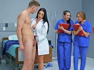 Sexy Doctor Angela White Teaches Her Students All About Hard Sex