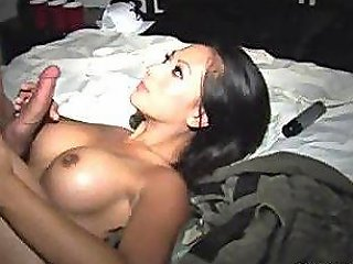 College Boy Spots Sexy Babe Gianna Lynn At Campus Party And Takes Her In Back Room To Screw Her