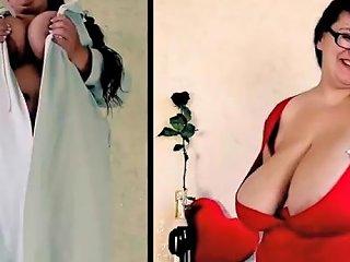 Cameravoyeur Saggy Udders Flabby Areola Nipples Vixxen 23