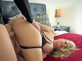 Hot Housewife And Boy Subscribe Fore More