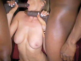 Blackedraw Ex Girlfriend Hooks Up With Two Bbcs After A Wedding 124 Redtube Free Interracial Porn