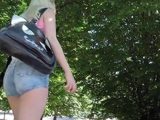 German Scout College Teen Liz Talk To Fuck At Real Casting