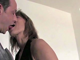 German Mature Mother Sucks Cock And Fucks Intensely