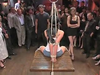 Slut's Pussy Gets Destroyed In A Bar Txxx Com