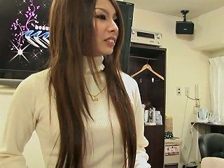 Long Haired Jap Gal Rina Hazuki Gets Properly Fucked During Kinky Casting