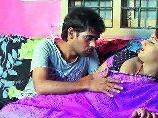 Hot Desi Shortfilm 337 Suma Aunty Boobs Squeezed Pressed Kissed Navel Ki