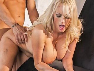 Big Tit Blonde Milf Stormy Daniels Fucked On The Hood Of Her Car