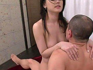 Obscene Japanese Slut Enjoys Raunchy Group Pounding