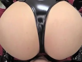 Exotic Japanese Whore In Crazy Latex Handjob Jav Scene