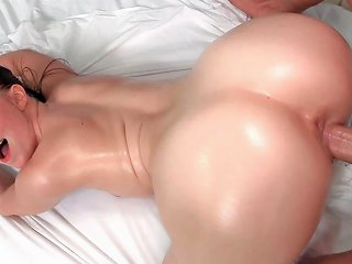 Teen Laney Grey Fucks Laz Fyre In Arched Oiled Pawg Booty