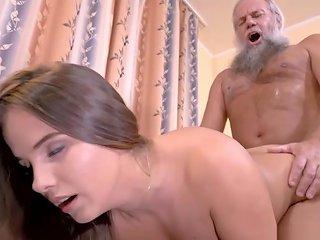 Horny Grandpa Enjoys Banging A Busty Babe Hdzog Free Xxx Hd High Quality Sex Tube
