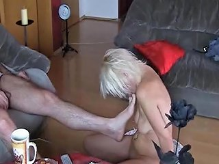 Devoted Worthless Slave Abused By Her Small Cock Master