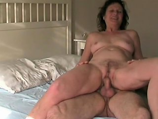 Granny At Home With Her Lover