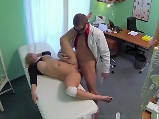 Thick Beautiful Blonde Let's The Doctor Do As He Pleases Hdzog Free Xxx Hd High Quality Sex Tube