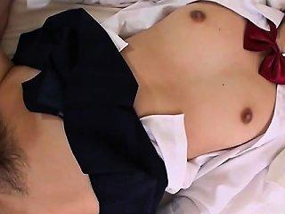 Blindfolded Schoolgirl Fur Pie Tease
