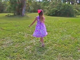 Teen Hunts Easter Eggs To Spread Her Legs