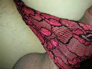 My Lover Loves Rubbing His Dick On My Ass While I'm Wearing Panties