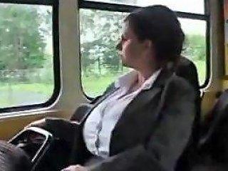 Big Boobs Milf In Tram