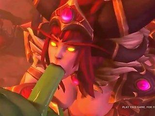 Hot Episodes From Warcraft Xxx Parody