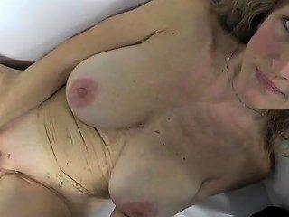 Big Tits Milf Casting With Cum On Tits