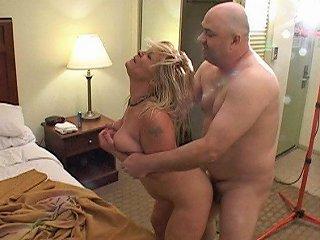 Trailer Trash Big Tit Blonde Mom Got Butt Fucked