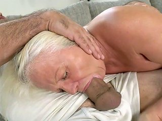 Old Wise Woman Anett Is Fucked Hard By Hot Blooded Young Man