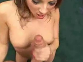 Teen Brunette Expose Her Self And Gives A Blowj W Facial