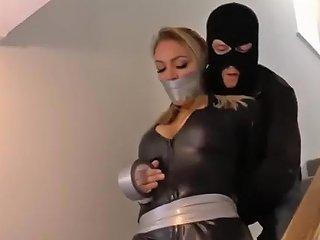 Agent Jenna Tape Bondage