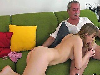 Cunt Licked Teenager Sucks Grandpas Cock Porn Videos