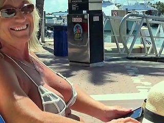Horny MILF With In A Bikini Fucks Hard On A Luxurious Yacht Any Porn