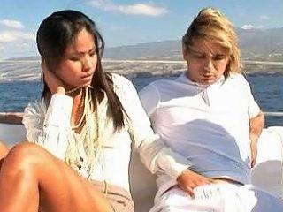 Priva Yacht Threesome Free New Threesome Porn Video 9e