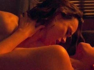 Celebrities Kate Mara Amp Ellen Page Hot Lesbian Sex Scene My Days Of Mercy