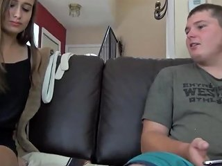 Fat Nerd With Small Cock Cums Accidentally In Her Roommate
