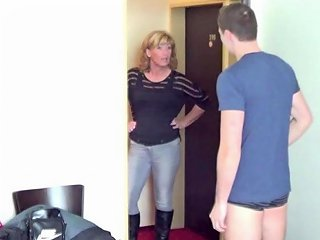 German Young Boy Seduce Milf To Get His First Fuck Porn 6f