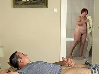 Old Nanny Marsha Is Having An Affair With One Perverted Student