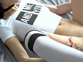Sexy College Girl Gets Sensual Fuck And Cumshot On Her Big Natural Tits